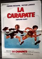 Aff Cine Orig LA CARAPATE(Gérard Oury/78) 60X40 Pierre Richard; Victor Lanoux Illus Jean-Étienne Siry - Affiches & Posters