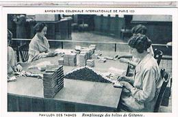 75 PARIS  Petits Metiers Remplissage Des Boites De Gitanes Tabac  Fo51 - Artisanry In Paris