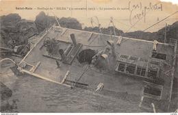 35-SAINT MALO-NAUFRAGE DU HILDA-N°442-E/0299 - Saint Malo
