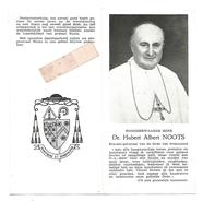 P 931. E.H. ALBERT NOOTS - Ere-abt-generaal Orde Prémontré - °NEERPELT 1881 /TONGERLO/ROME - + ANTWERPEN 1967 - Imágenes Religiosas