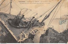 35-SAINT MALO-NAUFRAGE DU HILDA-N°442-F/0045 - Saint Malo