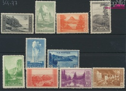 USA 364A-373A (kompl.Ausg.) Postfrisch 1934 Nationalparkjahr (9324884 - Ungebraucht