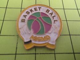 715c Pin's Pins / Beau Et Rare : THEME SPORTS / BASKET-BALL ASCMD - Basketball