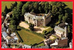 CP-12- LE LÉVEZOU - Château De VEZINS - Vue Aérienne  *SUP  * 2 SCANS - Zonder Classificatie