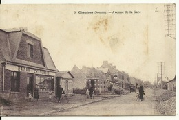 80 - CHAULNES / AVENUE DE LA GARE - BAZAR CHAULNOIS - Chaulnes