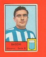 Calcio Figurine MIRA Calciatori Lecco Football Club G. SACCHI - Adesivi
