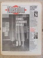 Journal Libération (8 Mars 1993) Femmes : La Majorité Invisible - Pasqua - Jacques Roseau - Bosnie - Peugeot - Zeitungen