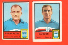 Calcio Figurine MIRA Calciatori SAMPDORIA Football Club Bernasconi + Barison - Adesivi