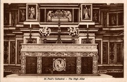ST PAUL'S CATHEDRAL - THE HIGH ALTAR - St. Paul's Cathedral