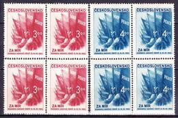 ** Tchécoslovaquie 1952 Mi 774-5 (Yv 680-1), (MNH) - Tschechoslowakei/CSSR