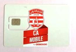 Carte SIM Ooredoo CA Club Africain - Tunisia