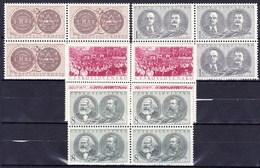 ** Tchécoslovaquie 1953 Mi 799-802 (Yv 701-4), (MNH) - Tschechoslowakei/CSSR