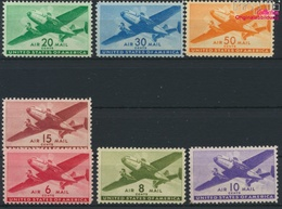 USA 500A-506 (kompl.Ausg.) Postfrisch 1941 Postflugzeug (9324878 - Ungebraucht
