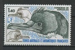 TAAF 1978  N° 78 ** Neuf  MNH Superbe C 2,30 € Faune Oiseaux Cormoran De Kerguelen Birds Animaux - Terres Australes Et Antarctiques Françaises (TAAF)