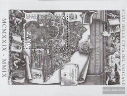 Vatikanstadt Block32 (complete Issue) Unmounted Mint / Never Hinged 2009 80 Years Vatikanstadt - Blocks & Sheetlets & Panes