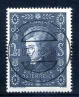 1956 AUSTRIA SET USATO - 1945-60 Gebraucht