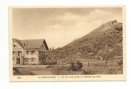 SAINTE MARIE AUX MINES - Col De ST DIE - Hôtel Et Château De Frite - Sainte-Marie-aux-Mines