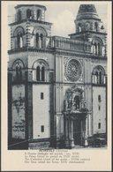 Dettaglio Del Portale, Il Duomo, Acireale, C.1910s - Grand Hôtel Des Bains Cartolina - Acireale