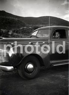 40s BUICK CAR PORTUGAL 60/90mm AMATEUR NEGATIVE NOT PHOTO NEGATIVO NO FOTO - Fotografía