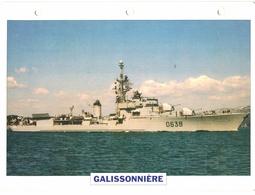 Thème - Bateau - 60 Fiches Des Editions Atlas - Navires De Guerre - Sous-marin - Porte-avions - Frégate... - Boats
