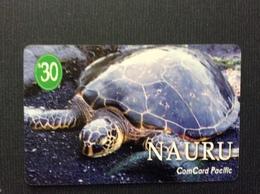 TELECARTE NAURU *$30 Tortue Turtle - Nauru
