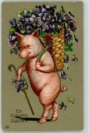 52725392 - Personifiziert Blumen - Schweine