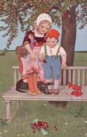 Enfants, Jouets, Grenouille Et Teckel (1973) - Scenes & Landscapes