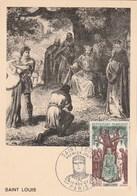 Carte Maximum Yvert 1539 Saint Louis Paris 10/11/1967 - Maximumkaarten
