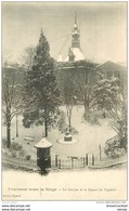 WW 31 TOULOUSE Sous La Neige. Le Square Du Capitole Et Le Donjon 1914 - Toulouse