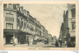 02 SOISSONS. Pharmacie Et Voitures Anciennes Rue Du Collège 1938 - Soissons