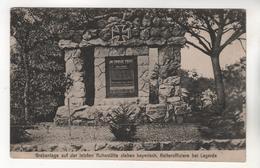 9398,  Feldpost, Heldengrab, Bei Lagarde - Oorlogsbegraafplaatsen