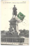 CPA 74 - 19. LE CREUSOT - Monument Eugène SCHNEIDER - Le Creusot