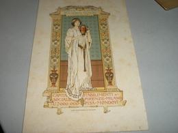 DEPLIANT PUBBLICITARIO RICHARD GINORI -ESPOSIZIONE GENERALE ITALIANA TORINO 1898 - Ginori (ITA)