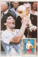 Football / Soccer / Fussball - WM 1986:   Mexiko  Sonderkarte - Finale - World Cup