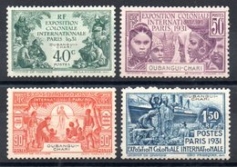 OUBANGHI - YT N° 84 à 87 - Neufs * - MH - Cote: 30,00 € - Unused Stamps