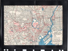 GI Tour Japan AmericanArmy 1946 Map - Other