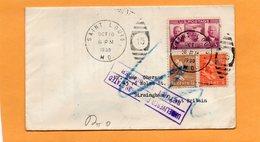 United States 1939 Cover Mailed To UK And Returned - Etats-Unis