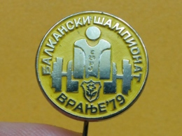 LIST 100 - WEIGHTLIFTING, DIZANJE UTEGA, VRANJE, SERBIA - Weightlifting