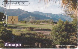 TARJETA DE GUATEMALA DE ZACAPA SIERRA DE LAS MINAS  (LADATEL-TELGUA) - Guatemala