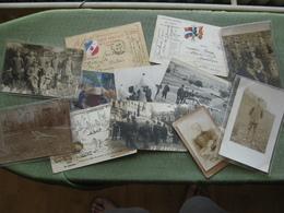 MILITARIA - Lot De Correspondance Militaire, Cpa & Cartes Photo - Cartes Postales