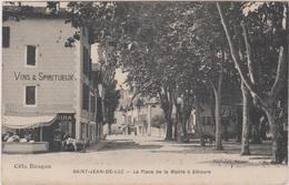 64 Saint Jean De Luz La Place De La Mairie A Ciboure - Saint Jean De Luz