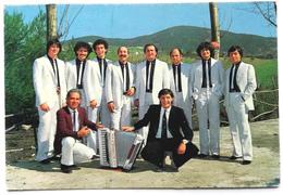 """Cartoncino Pubbl. """"L'Orchestra Franco E Gli Amici Del Liscio"""" (RECANATI, AN) - Foto"""
