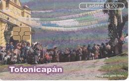 TARJETA DE GUATEMALA DE TOTONICAPAN - SAN ANDRES XECUL  (LADATEL-TELGUA) - Guatemala