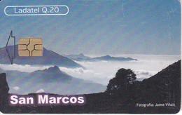 TARJETA DE GUATEMALA DE SAN MARCOS- VOLCAN TAJUMULCO  (LADATEL-TELGUA) - Guatemala