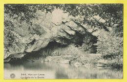 * Han Sur Lesse (Rochefort - Namur - La Wallonie) * (G. Hermans, Nr 344) La Sortie De La Grotte, La Lesse, Canal, Grot - Onhaye