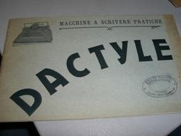 LIBRETTO PUBBLICITARIO MACCHINE DA SCRIVERE DACTYLE - Publicités