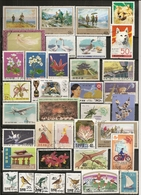 Coree Du Nord North Korea Collection Topical Stamps - Postzegels