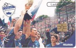 TARJETA DE GUATEMALA DEL CLUB COBAN IMPERIAL (FUTBOL - FOOTBALL) (LADATEL-TELGUA) - Guatemala