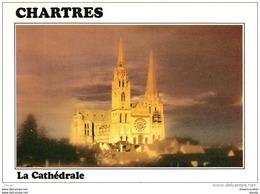 Photo Cpsm Cpm 28 CHARTRES. La Cathédrale Du XII Siècle 1989 - Chartres