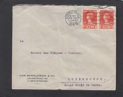 BRIEF VON DEN HAAG NACH LUXEMBURG. - 1891-1948 (Wilhelmine)